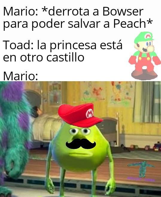 Pobre Mario :( - meme