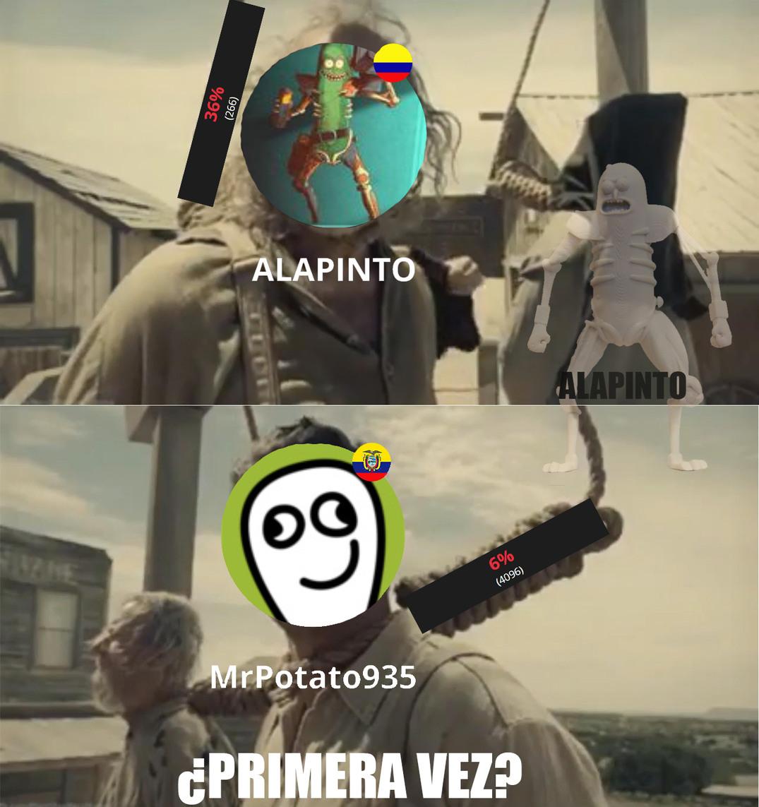 PRIMER VIOLADA A NEGATIVOS - meme