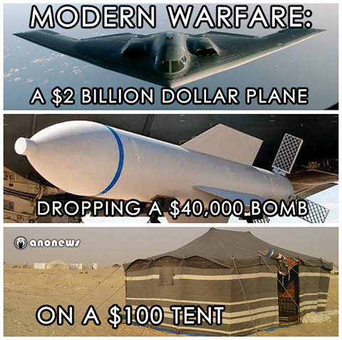 war is expensive - meme