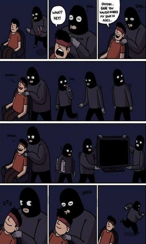 Good robber - meme