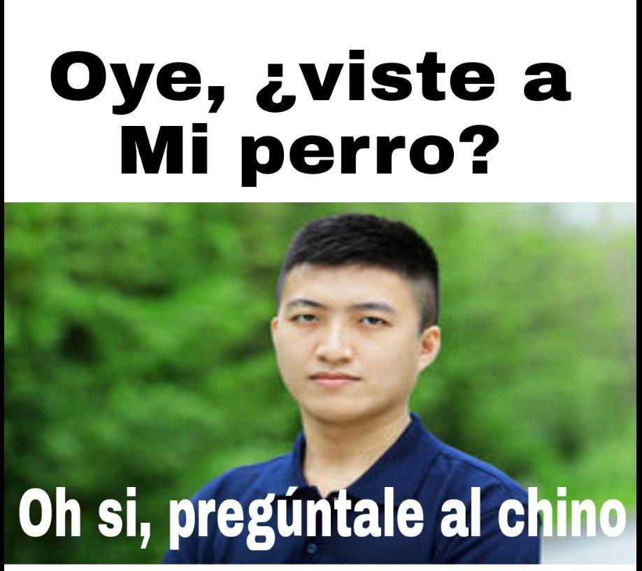 pregúntale al chino - meme