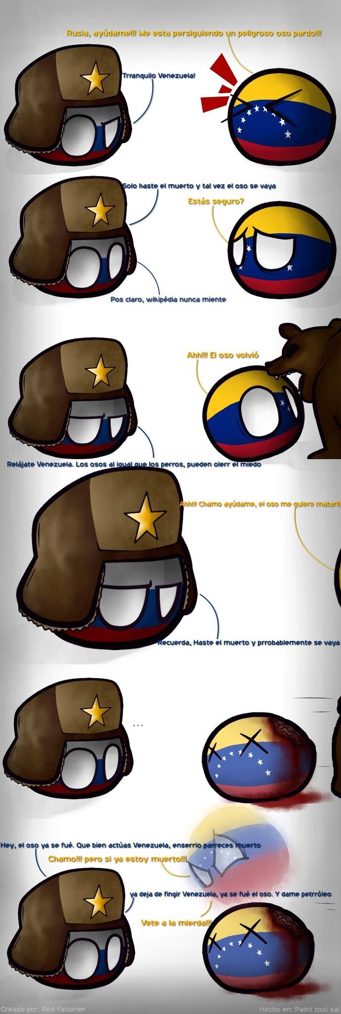 Countryballs comic #3 - meme