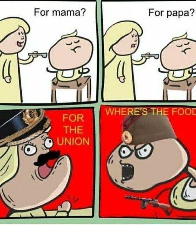 Insira a fome - meme