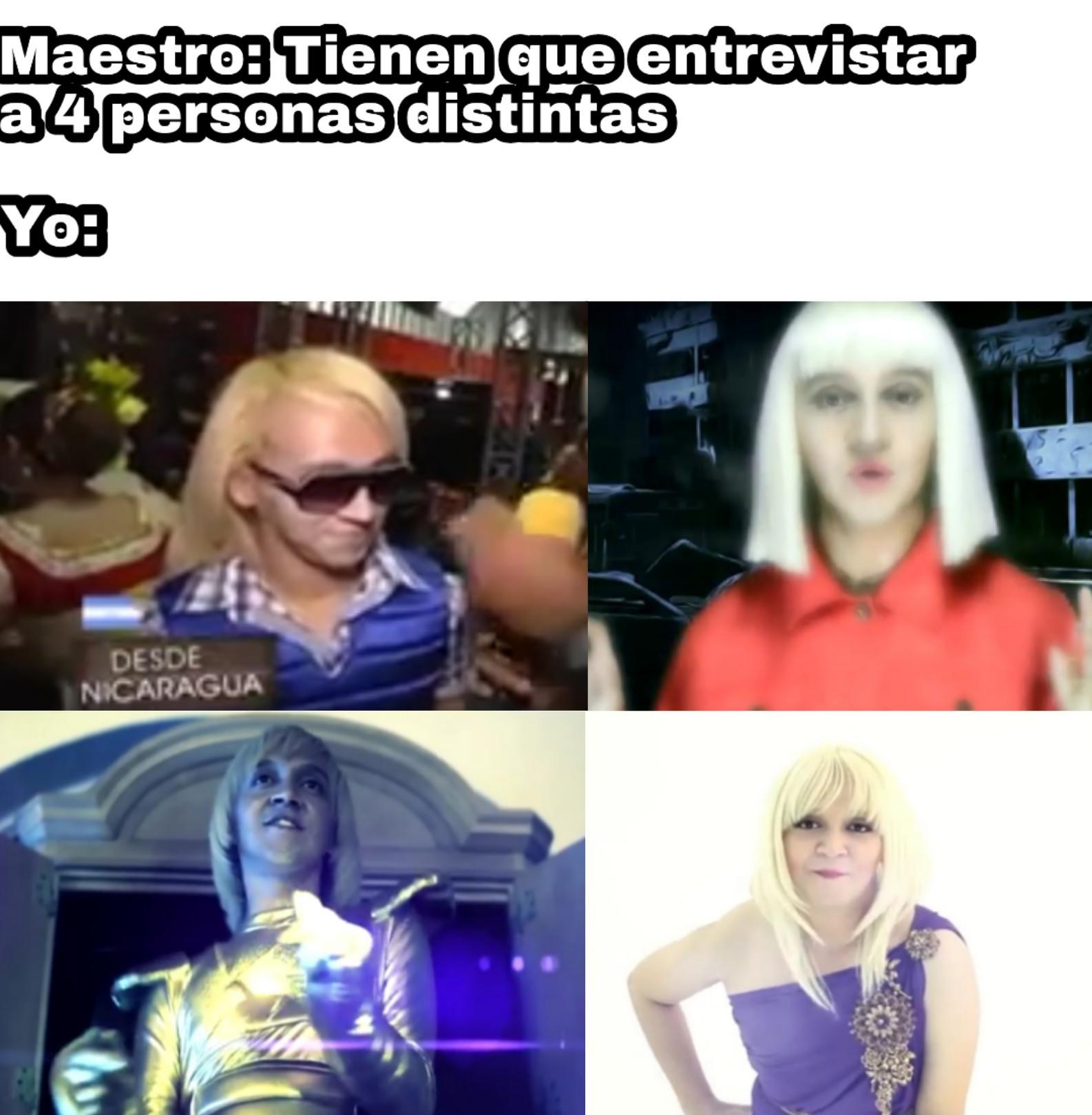 El alien travesti ese xd - meme