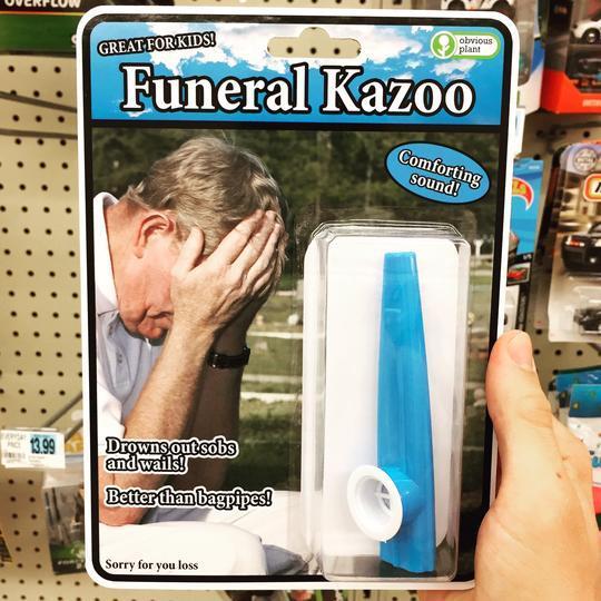 *cries in kazoo* - meme
