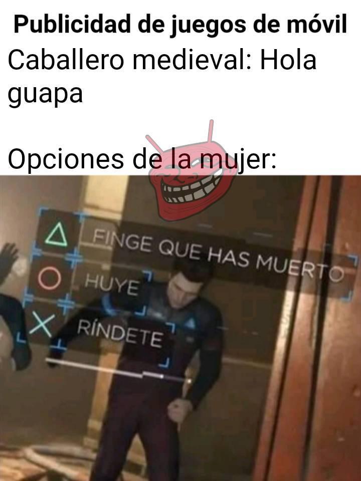 Juego Medieval De Decisiones - meme