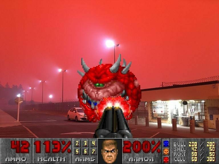 Man, doom eternal looks lit, and I made this myself - meme