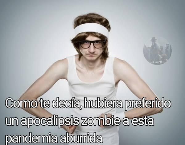 Dicen saber sobrevivir un apocalipsis zombie pero no saben ni hacer una fogata XDDDD - meme