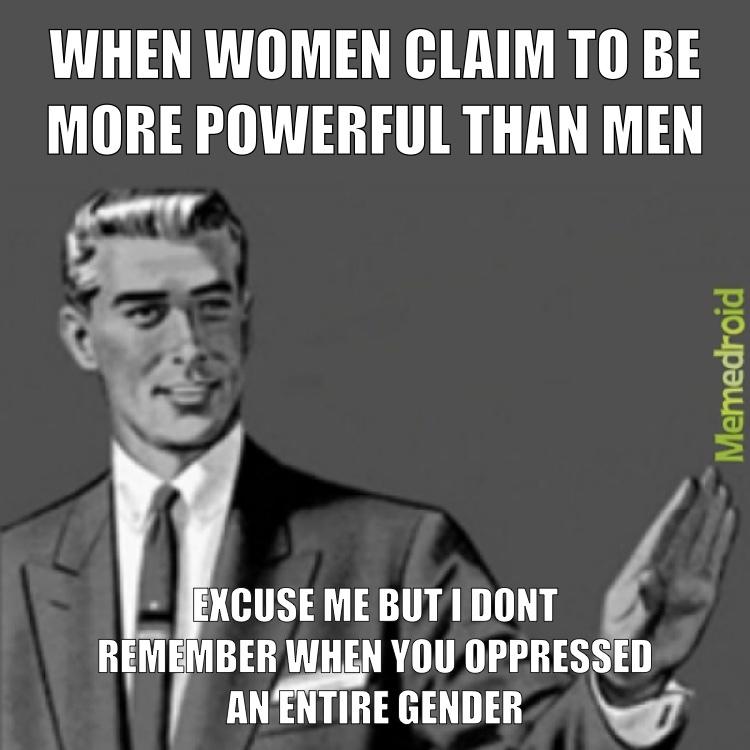feminism is dead - meme