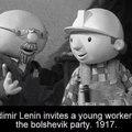Lenin is strong