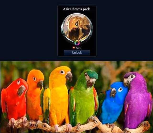 Azir Chroma - meme