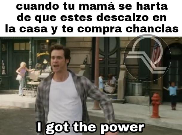 Poder, poder ilimitado - meme