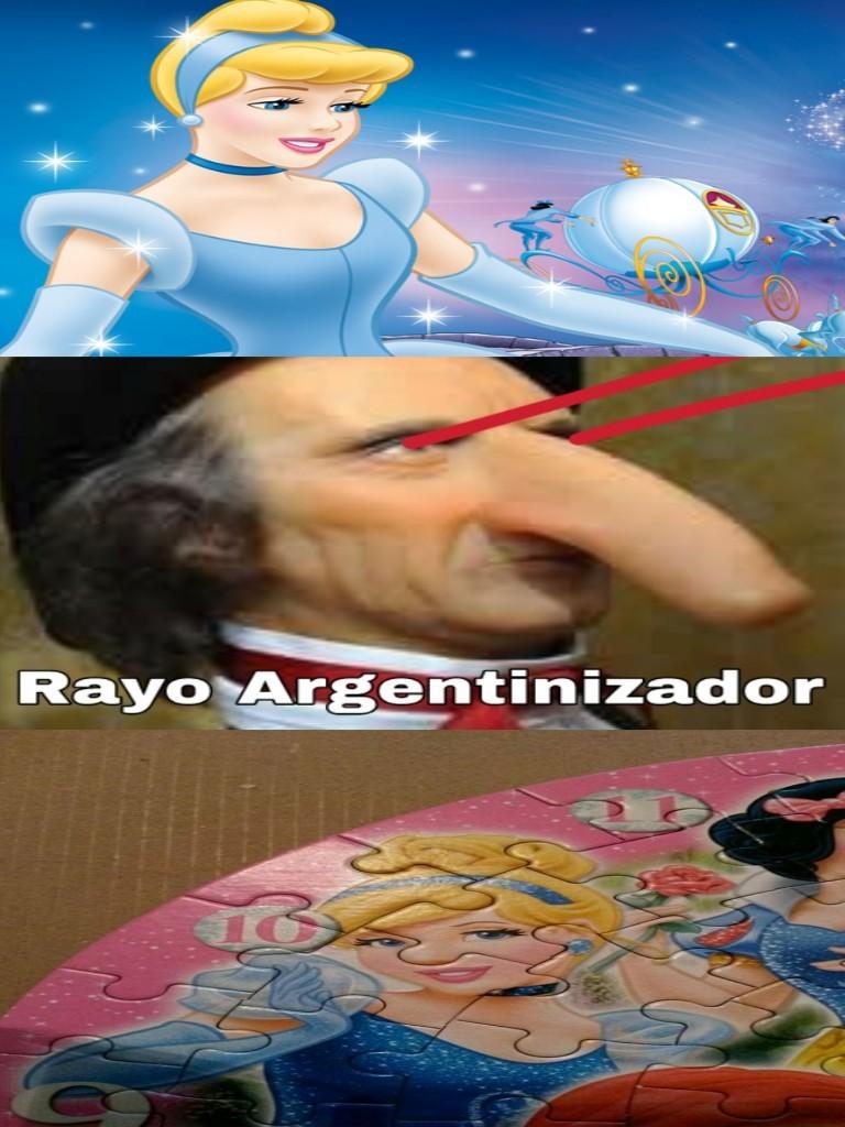 No es racista porque soy de Peronlandia - meme