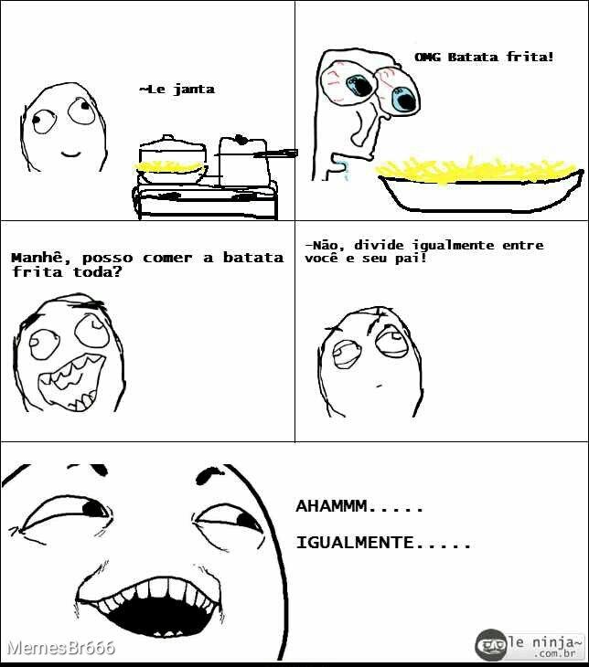 Batata Frita - meme