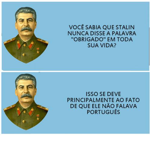 Stalinização - meme