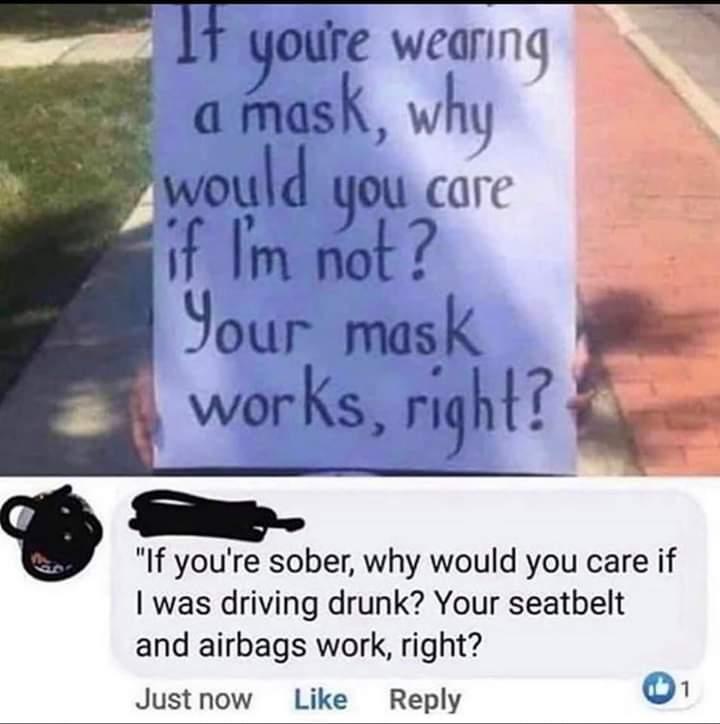 Just wear it - meme