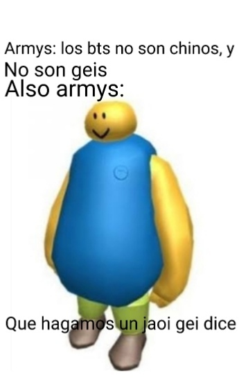 Pinches armys - meme