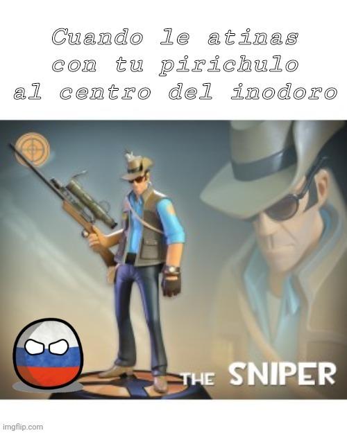 The Sniper Mítico - meme