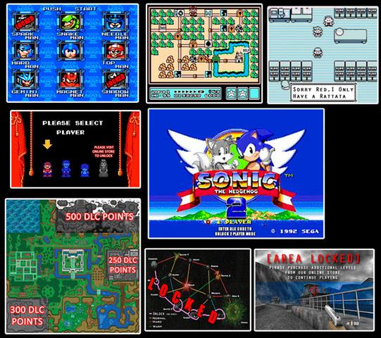 DLC videogame 90s - meme