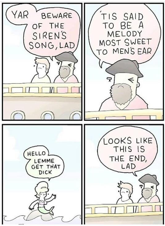Sirens Call - meme