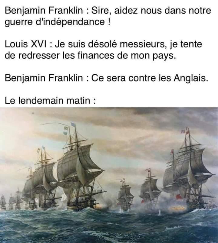 Ha les français - meme