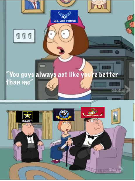 Military Branches - meme
