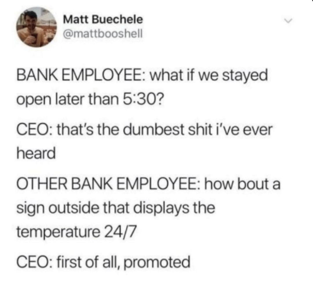 Banks - meme