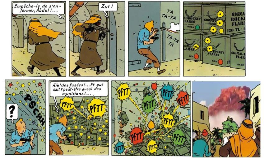 Tintin A investiguer - meme