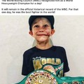 The champ indeed
