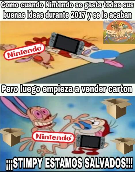 Nintendo Labo - ¿buena idea vender cartón? - meme