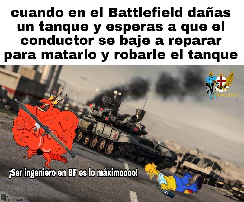 El battlefield 4 es lo máximooooo - meme