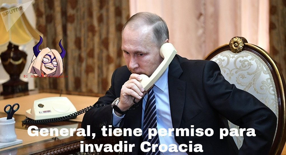 Croacia putin - meme