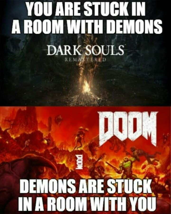 Doom is one of my favorite games - meme
