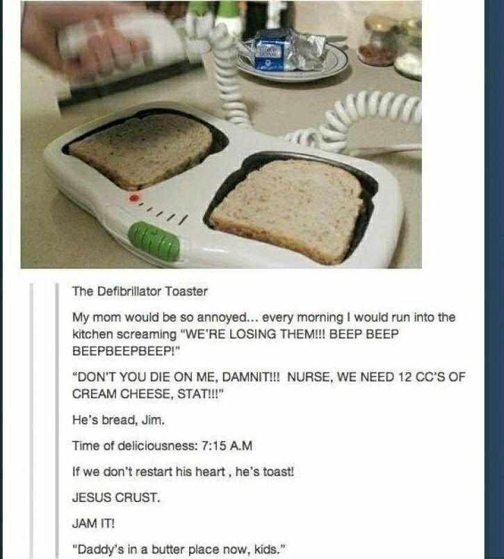 Toast Puns - meme