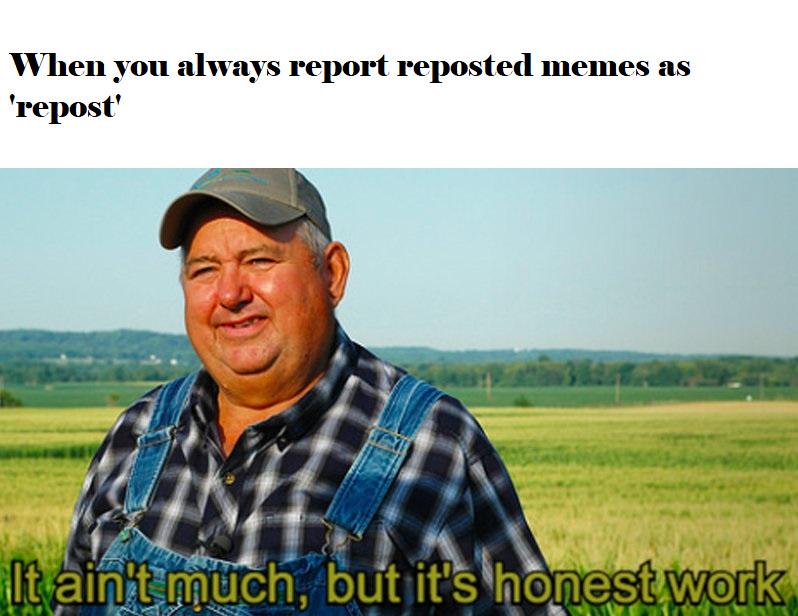 Gotta keep it fresh - meme