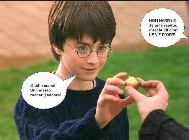 Harry potter tjr con - meme