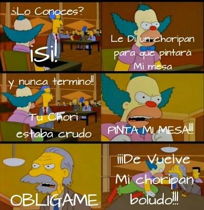 Obligame en argentino - meme