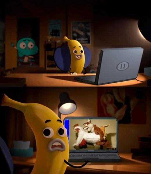 No Banana Joe que hiciste?! - meme