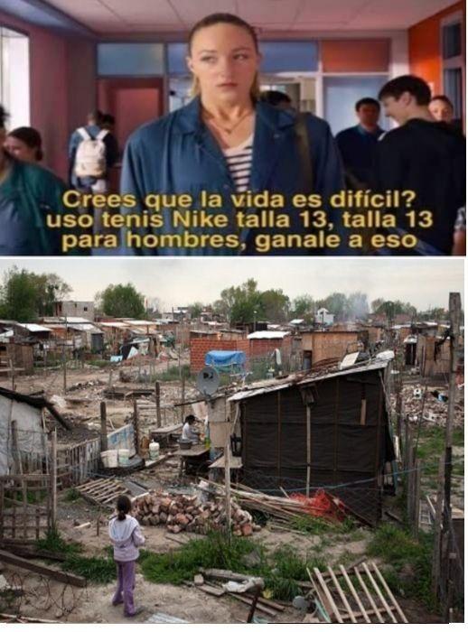 No, no es Africa... es Argentina (La Matanza, una de las zonas mas pobres y decadentes de Buenos Aires... o incluso de toda la Argentina) :sad: - meme