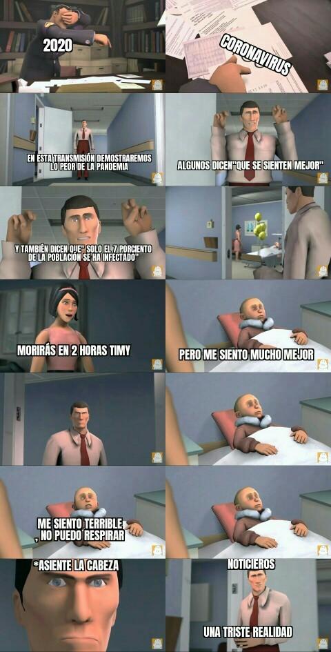 Una larga historia - meme
