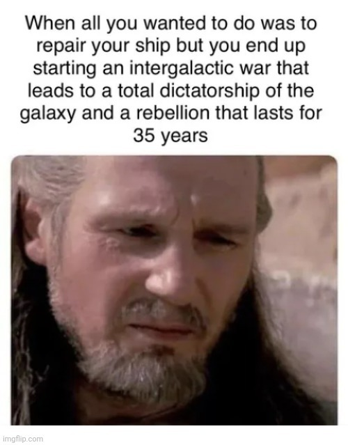 Thank you Master Qui Gon - meme