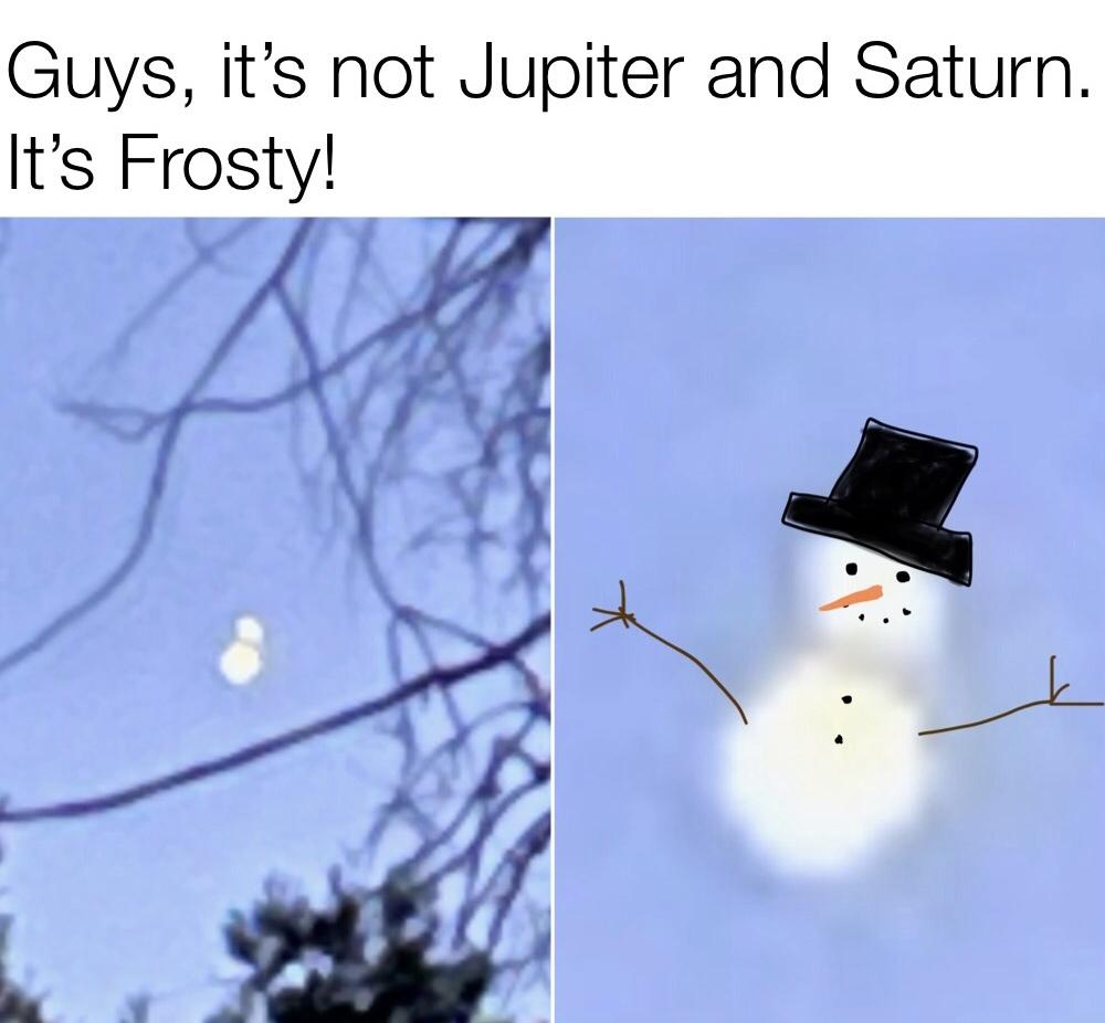 800yr old frosty - meme