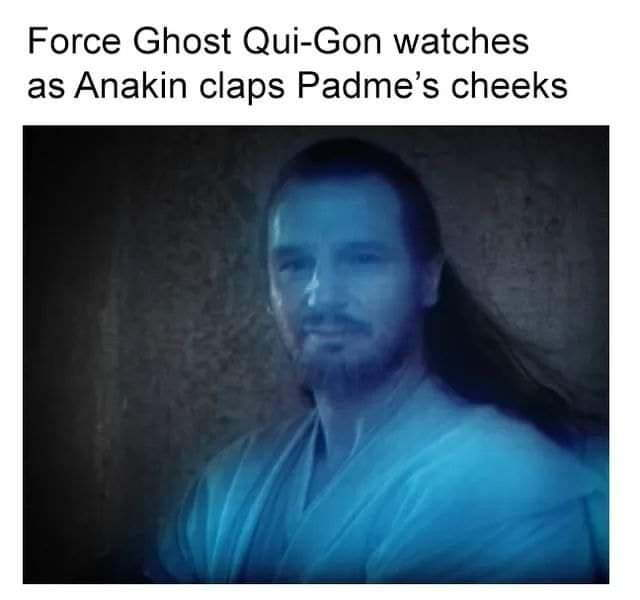 The Force is strong in this one - meme