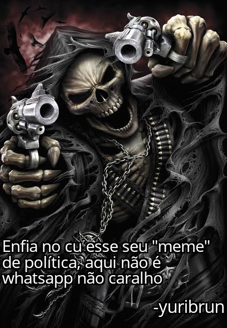 O título não gosta de meme de política