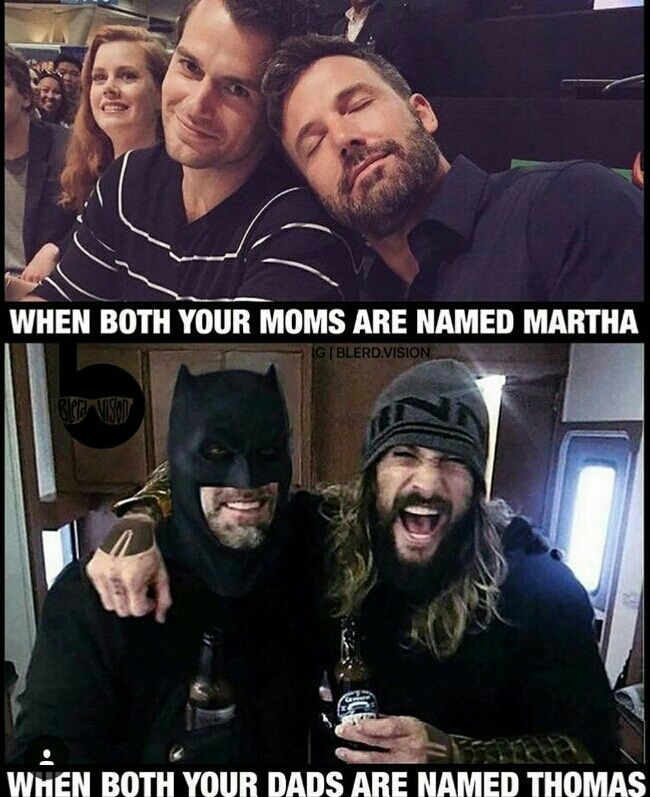 Batman and Aquaman - meme
