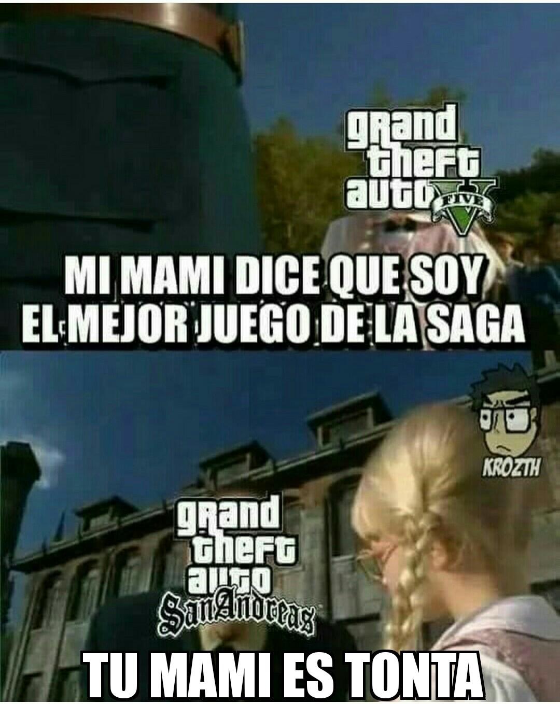 GTA SA, el mejor :D - meme