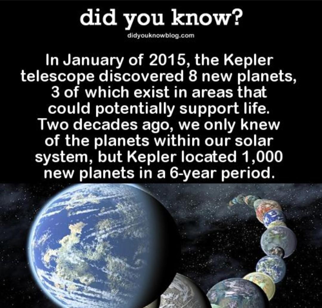 Kepler was working over time - meme