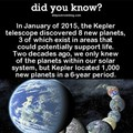 Kepler was working over time