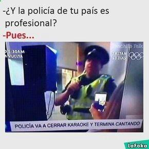 Policía - meme