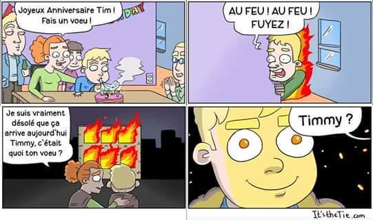 Le pyromane - meme